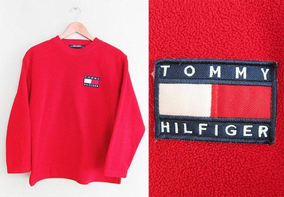 vintage sweatshirt tommy hilfiger 1990s tommy hilfiger. Black Bedroom Furniture Sets. Home Design Ideas