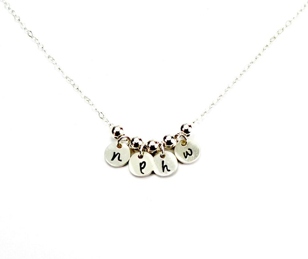 Multi Initials Necklace