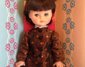 Vintage Reliable Doll, Vintage Doll in Box, Judy Doll, Vintage Girl Doll, Vintage Baby Doll, Vintage Fashion Doll, Reliable Canada Doll