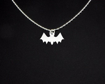 Bat Necklace - Bat Jewelry - Bat Gift