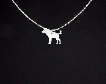 Hyena Necklace - Hyena Jewelry - Hyena Gift