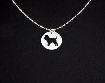 Brussels Griffon Necklace - Brussels Griffon Jewelry - Brussels Griffon Gift