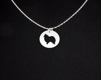 Pomeranian Necklace - Pomeranian Jewelry - Pomeranian Gift