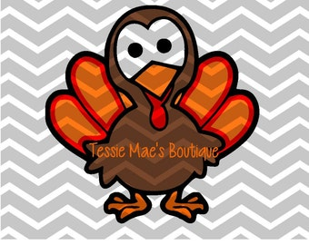 Turkey SVG, DXF, EPS Digital Design, Instant Download, Thanksgiving Turkey