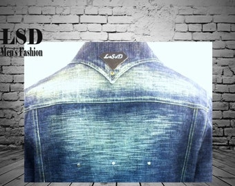 Custom Jacket; Custom Clothing; Denim Jacket; Jean Jacket; Mens Denim Jacket; Custom Design; Mens Clothing; Mens Fashion