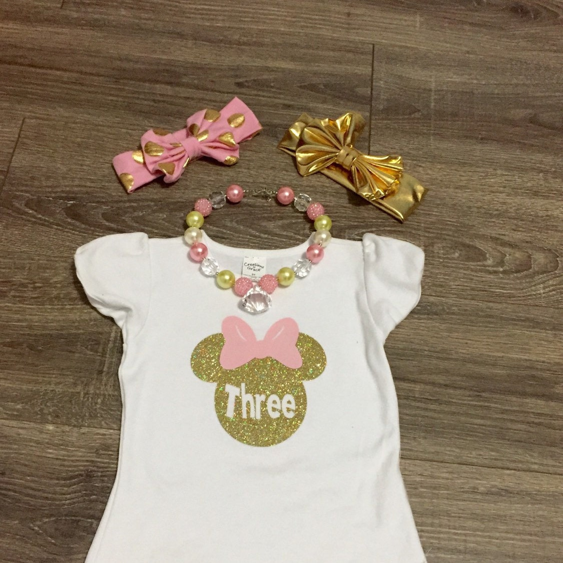 FREE SHIPPING Girls 3rd Birthday Outfit by SunshineChloeCrafts