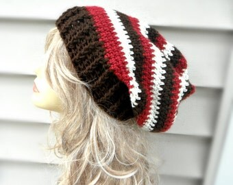 Slouchy Hat, Crochet Hat, Womens Hat, Winter Hat, Winter Accessories, Crochet Accessories, Multi Color Hat, Slouchy Beanie