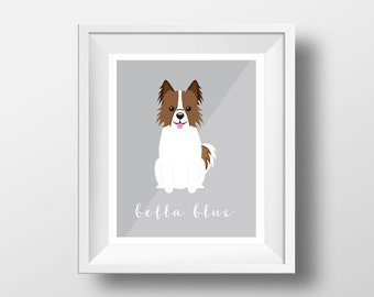 Custom Dog Print