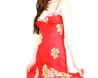 90s Betsey Johnson floral dress