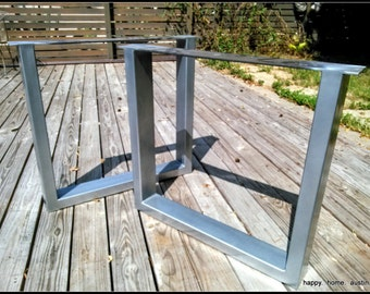 Square 2x4 Steel Metal Dining Table Legs