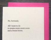 All I want to do is zoom boom Funny Valentine's Love Anniversary Wedding Rustic Hip Hop Retro 90s
