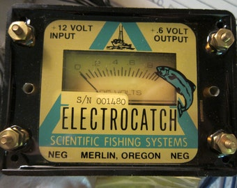 Vintage Electrocatch, Fishing Line Voltage Stablilizer, Scientific Finishing Systems - Really Cool Vintage Fishing Gear!