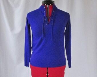 Women's Vintage Sweater - 1980's - Medium - Vintage Sweater - Purple Sweater - Purple Pullover Sweater - Purple Knit Sweater - Women's Small