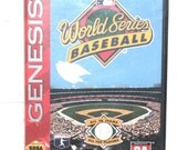 Vintage 1994 World Series Baseball, Sega Games, Vintage Toys, Antique Alchemy