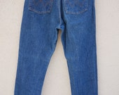 Vintage High Waisted Jeans, Denim Wrangler Jeans, High Waisted Denim Pants, Mom Jeans // Perfect to make cut off shorts!