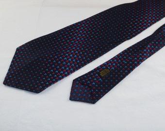 Vintage Men's Tie, Navy Blue