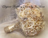 ELEGANT Rose Gold Bouquet, BALANCE for completed Bouquet Order For Tanya ONLY