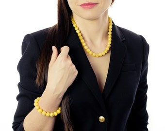 Butterscotch Baltic amber necklace, egg yolk amber jewelry, amber, amber gift