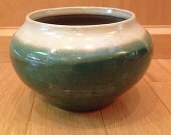 vintage pottery succulent planter / Mid Century/ Boho