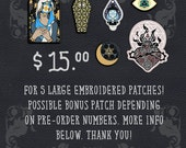 Coey: Sacred Geometry Patches PREORDER