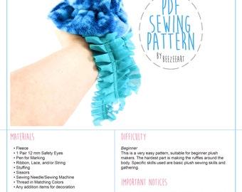 Jellyfish Stuffed Animal Sewing Pattern, PDF Pattern, Digital Sewing Tutorial