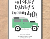 Printable 40th Birthday I...