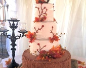 Rustic Twig Wedding Cake Topper - Personalized Grapevine Letter - Print Style
