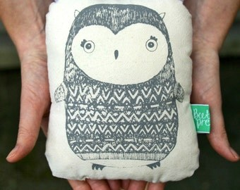 Owl small plushie cushion/decorative pillow