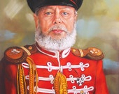 Portrait painting- A Man in uniform. Custom portrait from photo. Pastel painting. Father's Day gift OOAK, sample
