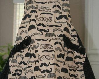 Women's mustache Apron