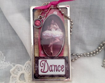 Darling Ballerina Dance Necklace