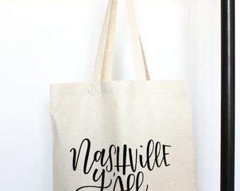 Nashville Y'all - Tote Bag