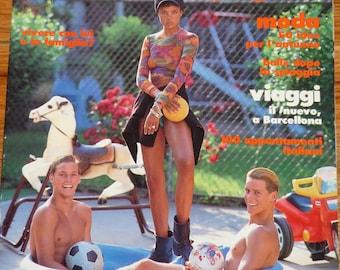Italian Glamour Magazine July 1992