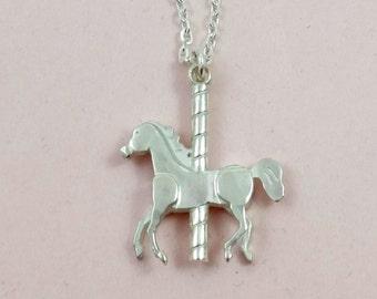 Necklace Carousel-Horse // The FUN FAIR Collection