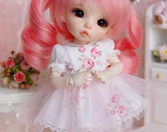 Lati Yellow/ Pukifee - Summer Petals Dress - Rose Flower