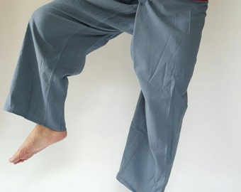 2T0019 Thai fisherman/Yoga are pants Free-size: Will fit men or woman, Chic pants