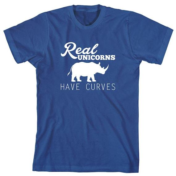 Real Unicorns Have Curves Shirt, humor, funny, gift idea - ID: 1556