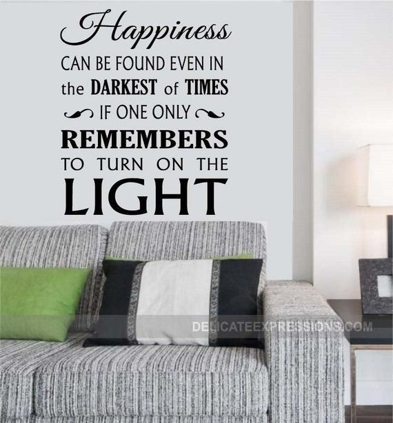 Harry Potter Wall Decal Quote by StoneCreekWallDecals