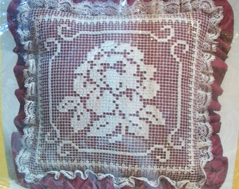 Lacemaking pillow Etsy