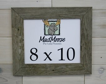 "8x10 BarnWood [Thin x 2""]  Picture Frame"