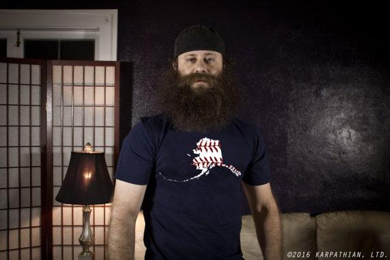 FREE SHIPPING Alaska baseball mens tee Buy Any 3 Shirts Get a 4th FREE