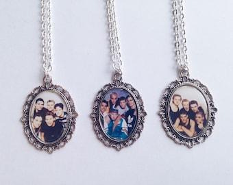 90's Boy Band Cameo Necklaces