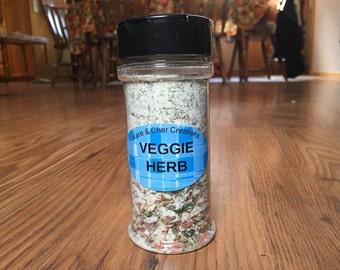 Veggie Herb Seasoning Jar & Vegetable Dip Mix