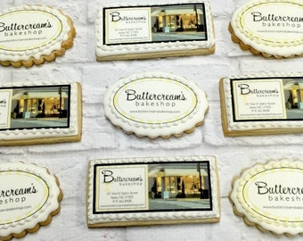 Customized Logo Cookie/Corporate/Wedding - Custom Image