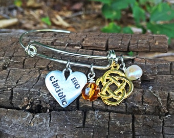 Outlander inspired, outlander jewelry, celtic jewelry, gaelic jewelry, outlander bracelet, celtic knot jewelry, celtic knot bracelet