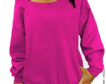 Blank Slouchy Oversized Sweatshirt