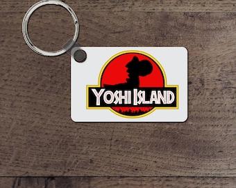 Yoshi island key chain