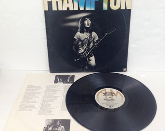 Peter Frampton FRAMPTON Vintage Vinyl 33rpm Record Album LP 1975 A&M Records SP 4512 - 1970s Classic Rock