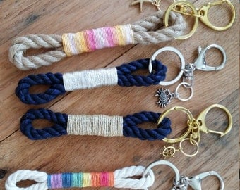 Mainely Rope Keychain