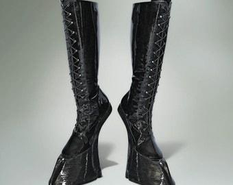 Succubus / Demon Cloven Hoof Boots